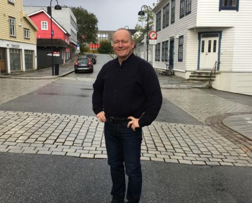 Jan-Henrik Nygård, dagleg leiar Kystvegen Ålesund - Bergen.
